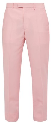 Calvin Klein Side Stripe Slim Leg Trousers - Mens - Pink