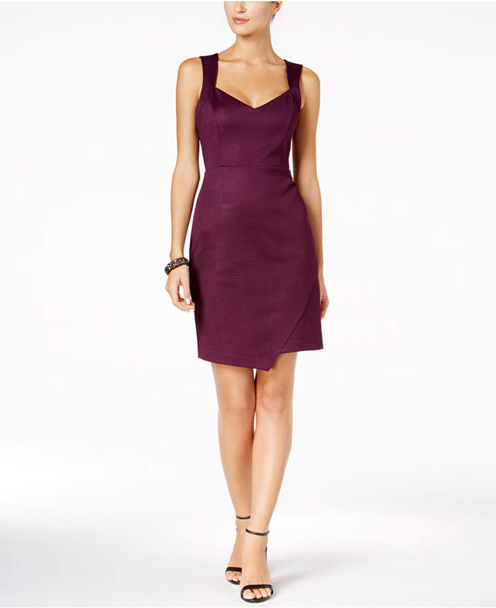 Guess Sweetheart-Neck Sheath Dress