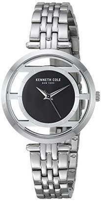 Kenneth Cole New York Women's Transparency Japanese-Quartz Watch with Stainless-Steel Strap