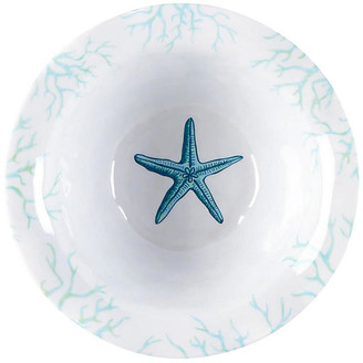 Q Squared Set of 4 Captiva Melamine Cereal Bowls - Teal