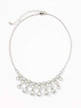 Old Navy Crystal Statement Necklace for Women
