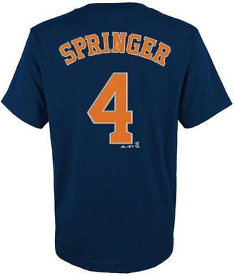 Majestic Kids' George Springer Houston Astros Player T-Shirt
