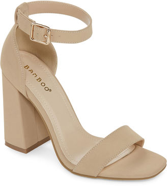 Bamboo Soul Ankle-Strap Pumps $39.99 thestylecure.com