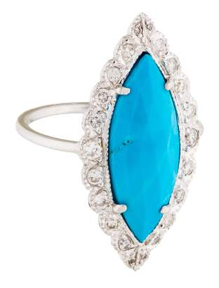 Jacquie Aiche Turquoise White gold Ring