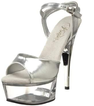 Pleaser USA Women's CAPTIVA-609/S/C Platform Sandal