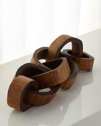 Regina-Andrew Design Regina Andrew Design Wooden Links Centerpiece