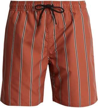 Saturdays NYC Timothy striped swim shorts