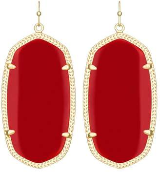 Kendra Scott Red Statement Earrings