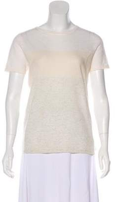 Magaschoni Cashmere Colorblock Top w/ Tags