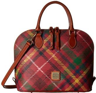 Dooney & Bourke Durham Zip Zip Satchel $228 thestylecure.com
