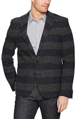 French Connection Men's Bold Stripe Wool Blazer