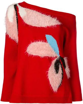 DELPOZO off the shoulder sweater