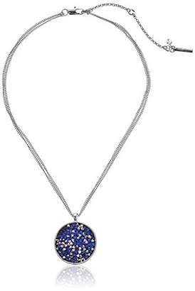 Kenneth Cole New York Faceted Bead Round Pendant Necklace