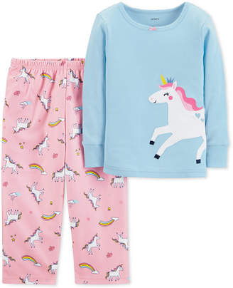 Carter's Toddler Girls 2-Pc. Unicorn Pajama Set
