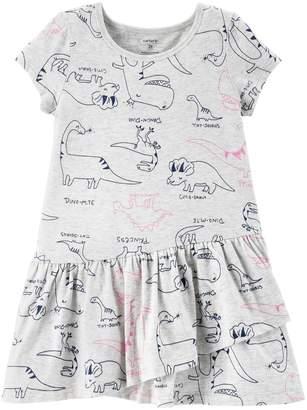 Carter's Toddler Girl Shirred Skater Dress