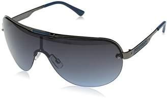 Rocawear Men's R1451 Gunbl Non-Polarized Iridium Shield Sunglasses