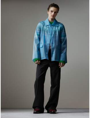 Burberry Soft-touch Plastic Jacket