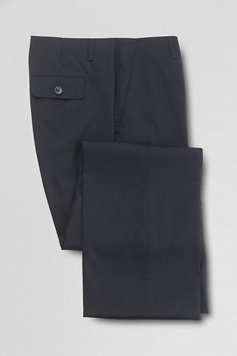 Lands' End Women's Tall Stretch No Waist Gabardine Trousers