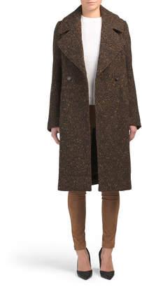 Sabrina Boucle Wool Coat