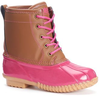 Totes Lucy Girls' Water-Resistant Winter Duck Boots $69.99 thestylecure.com