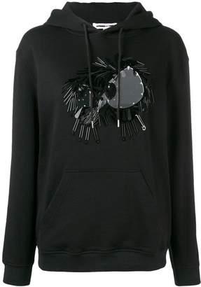 McQ embellished monster hoodie