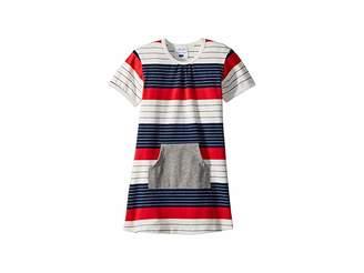 Toobydoo Stars and Stripes Pocket Dress (Infant/Toddler)