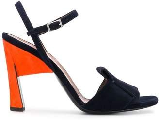 Marni contrast heel sandals