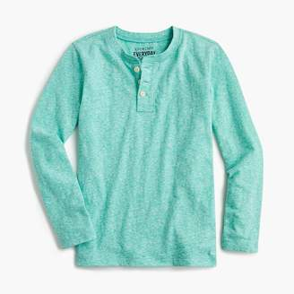 J.Crew Boys' henley shirt in the softest jersey