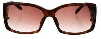 Montblanc Tortoiseshell Gradient Lens Sunglasses