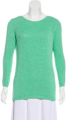 Rachel Zoe Crew Neck Long Sleeve Sweater