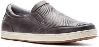 Propet Men's Logan Slip On Sneakers, Nubuck, Nylon, Polyurethane, Rubber, 8.5 M