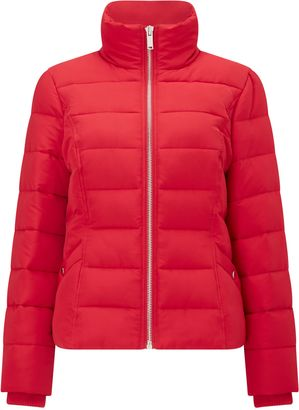 Miss Selfridge Red Puffer Jacket