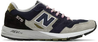 New Balance Grey and Navy MTL 575 Sneakers