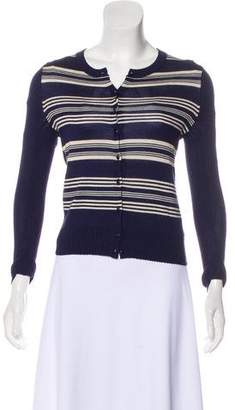 Marc by Marc Jacobs Silk & Cashmere Striped Cardigan