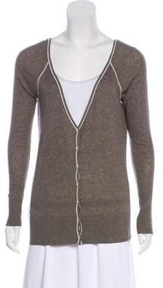 Lacoste Long Sleeve Knit Cardigan