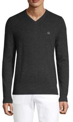 AG Jeans Arbor Merino Wool V-Neck Sweater