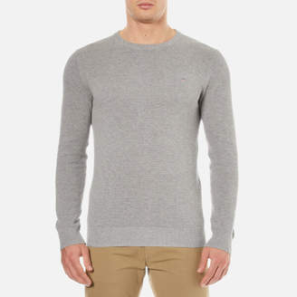 Gant Men's Cotton Pique Crew Neck Sweatshirt
