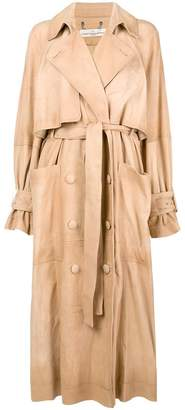 Golden Goose double breasted trench coat
