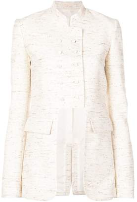 Rosie Assoulin long sleeved fitted jacket