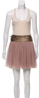Haute Hippie tulle mini dress