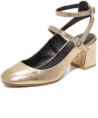Rebecca Minkoff Brooke Mary Jane Pumps $175 thestylecure.com