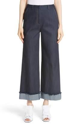 Cinq à Sept Gemma Wide Leg Jeans