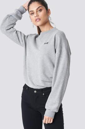 NA-KD Na Kd Babe Sweatshirt Black