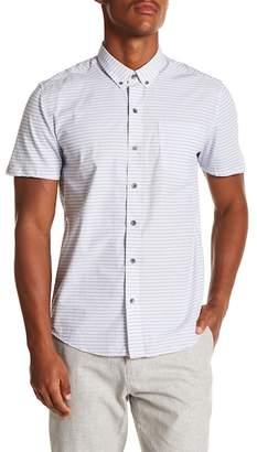 WRK Mini Stripe Reworked Short Sleeve Shirt