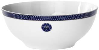 Bloomingdale's Royal Limoges Blue Star Rimmed Salad Bowl