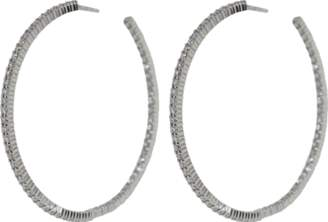 Kwiat Large Diamond Hoop Earrings
