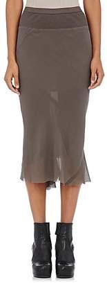 Rick Owens Women's Knee-Length Silk Skirt