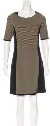 Rag & Bone Striped Mini Shirtdress