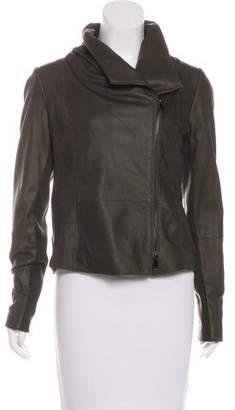 Vince Asymmetrical Suede jacket