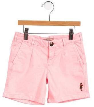 Scotch & Soda Girls' Denim Cuffed Shorts w/ Tags